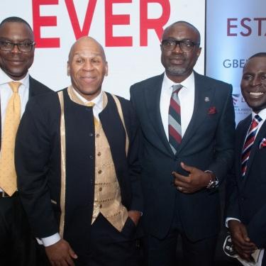 Biyi Ayodeji MD Acuity Assets UK Joe Quinones MD Estatelinks US Gbenga Olaniyan Chairman CEO Estatelinks Group Yemi Stephens GM Estatelinks